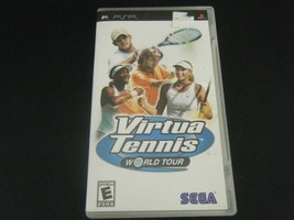 Virtua Tennis: World Tour (Sony PSP, 2005) - Complete!!! - $6.29