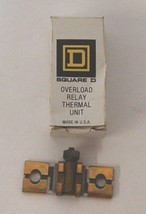 Square D B15.5 Overload Relay Thermal Unit USA Made - $20.98