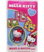 Girls Hello Kitty Make a Match Card Game Memory Matching Preschool Trave... - $17.99