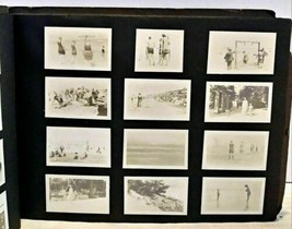 Vintage 1919 California Photo Album Beaches Bathing Suit Cedar Point Det... - $299.99