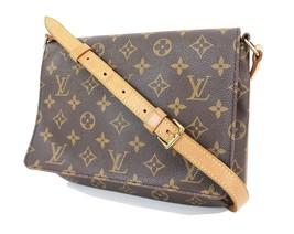 Authentic LOUIS VUITTON Musette Tango Monogram Shoulder Bag Purse #31500 - $529.00