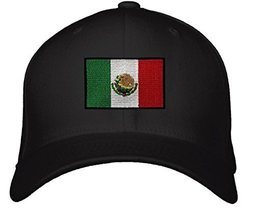 Mexico Flag Hat - Adjustable Men's Cap Green/White/Red Coat of Arms - $15.79