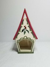 Lenox Winter Greetings Candle Holder Bird House Wax Wing Hand Crafted Mc... - $24.99