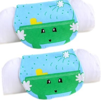 2 Lovely Bathtub Cotton Gauze Towel Wipe Sweat Absorbent Cloth Mat Towels