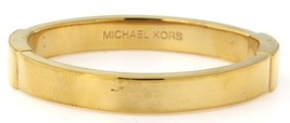 Michael kors Women's Base Metal Gold Plated Bangle - $79.00