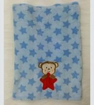 Baby Starters Blue Blanket Monkey Red Star Plush Lovey Security Boy B77 - $24.99