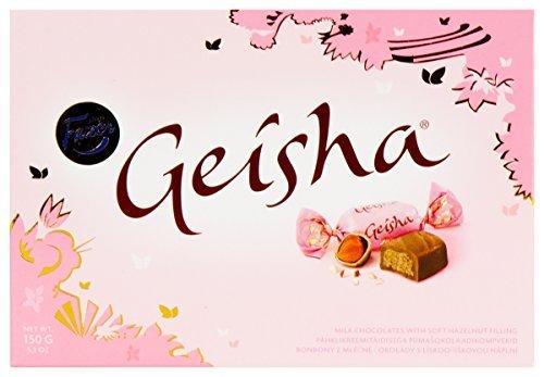 Fazer Geisha Chocolates with Soft Hazelnut Filling 5.3-ounce Box (Pack of 3)