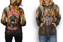 HOODIE WOMEN ZIPPER Five Finger Death Punch - $49.99+