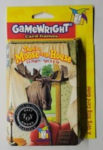 There's a Moose in the House A Very Silly Card Game 2005 Gamewright - $14.84