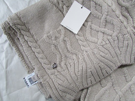 UGG Scarf Isla Lurex Cable Knit NEW - $94.05