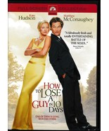 How to Lose a Guy in 10 Days/Nights in Rodanthe/No Reservations DVD's - $9.99