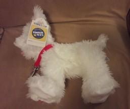 "BUILD A BEAR White PROMISE PETS WESTIE PUPPY DOG 11"" plush UNSTUFFED NWT - $26.17"