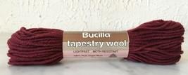 Vintage Bucilla Tapestry 100% Pure Virgin Wool Yarn - 1 Skein Burgundy #78 - $3.33
