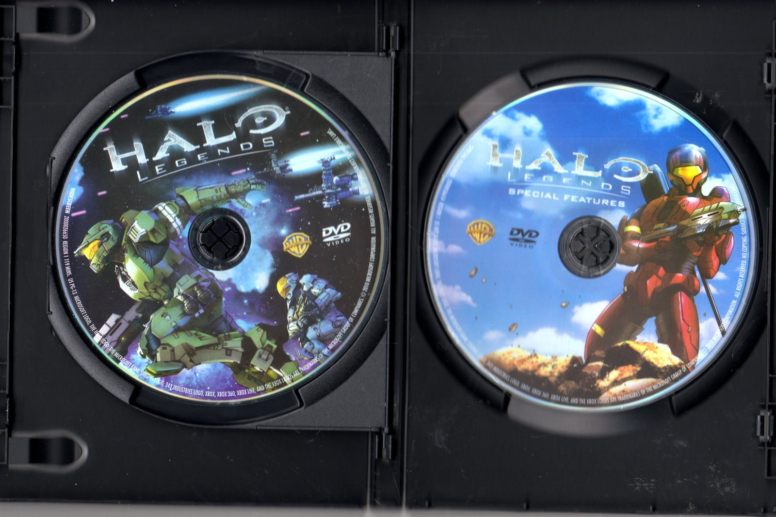 DVD - Halo Legends (2 Disc Special Edition)