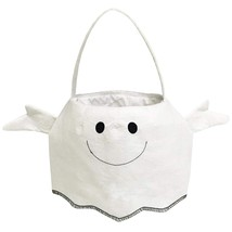 White Ghost Trick or Treat Candy Bag for Halloween Party Costumes - $19.65