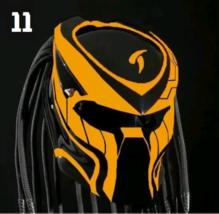 The Predator Motorcycle Helmet Orange Nature (Dot / Ece Certified) - $355.00