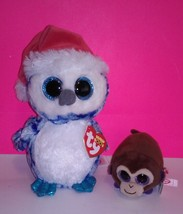 Beanie Boos Icicle & Monkey Boo - $15.99