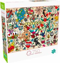 Buffalo Games 750 Piece Jigsaw Puzzle Art of Play Tattoopalooza: Dragon ... - $25.25