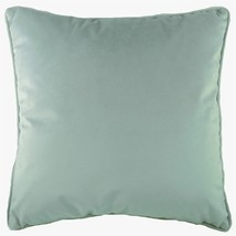 """Luxe Evans Lichfield Royal Velvet Bleu Rempli Piped Supersoft Coussin 17/"""""""