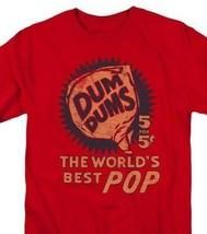 Dum-Dums T-shirt 5 for 5 retro candy classic lollipop graphic tee DUM117 Red image 1