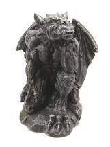 "Small Stoic Winged King Kong Gargoyle Decorative Figurine 3.25"" Tall - $12.99"