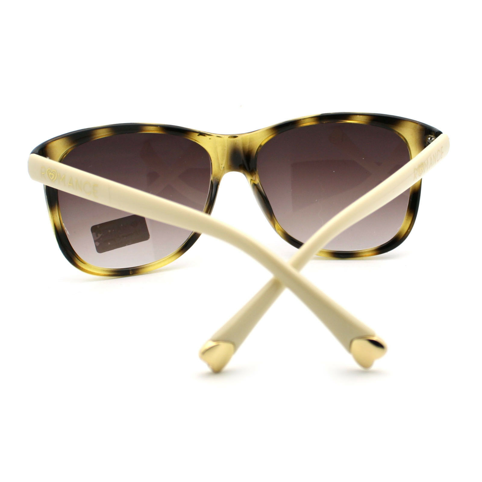 Romance Womens European Designer Fashion Retro Horn Rim Diva Sunglasses
