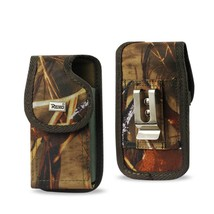 Camo Rugged Metal Clip Case fits LG Fiesta, XPower,XCharge with a cover on - €9,25 EUR