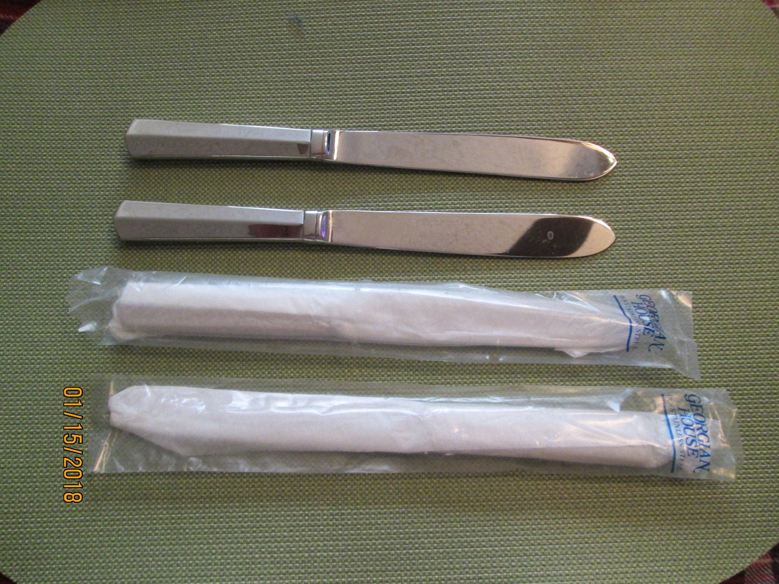 Primary image for Towle Georgian House Kimberly  set of 4 dinner knife 9 1/4""