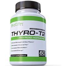 Fat Burners BioCor Nutrition Thyro-T2 Thyroid Stimulant Free Metabolism ... - $31.31