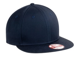 New Era 9Fifty Flat Brim Snapback Hat Cap Blank Deep Navy 950 new - $12.00