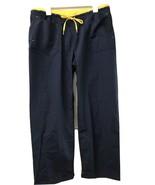 Wonder Wink Spread Good Cheer Navy Blue Scrub Bottoms Pants Style 5056 S... - $19.95