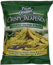 Fresh gourmet Crispy Jalapenos, Lightly Salted, 16 ounce image 2