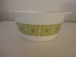 Vintage Pyrex Verde  Cinderella Casserole Dish Bowl 474 1.5 Quart Liter  #2 - $9.89