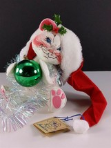 "Annalee Doll 10"" 7427 Kitten With Ornament 1995 - $19.79"