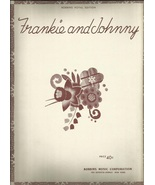 Frankie and Johnny 1933 Vocal Free shipping Vintage Sheet music - $9.95