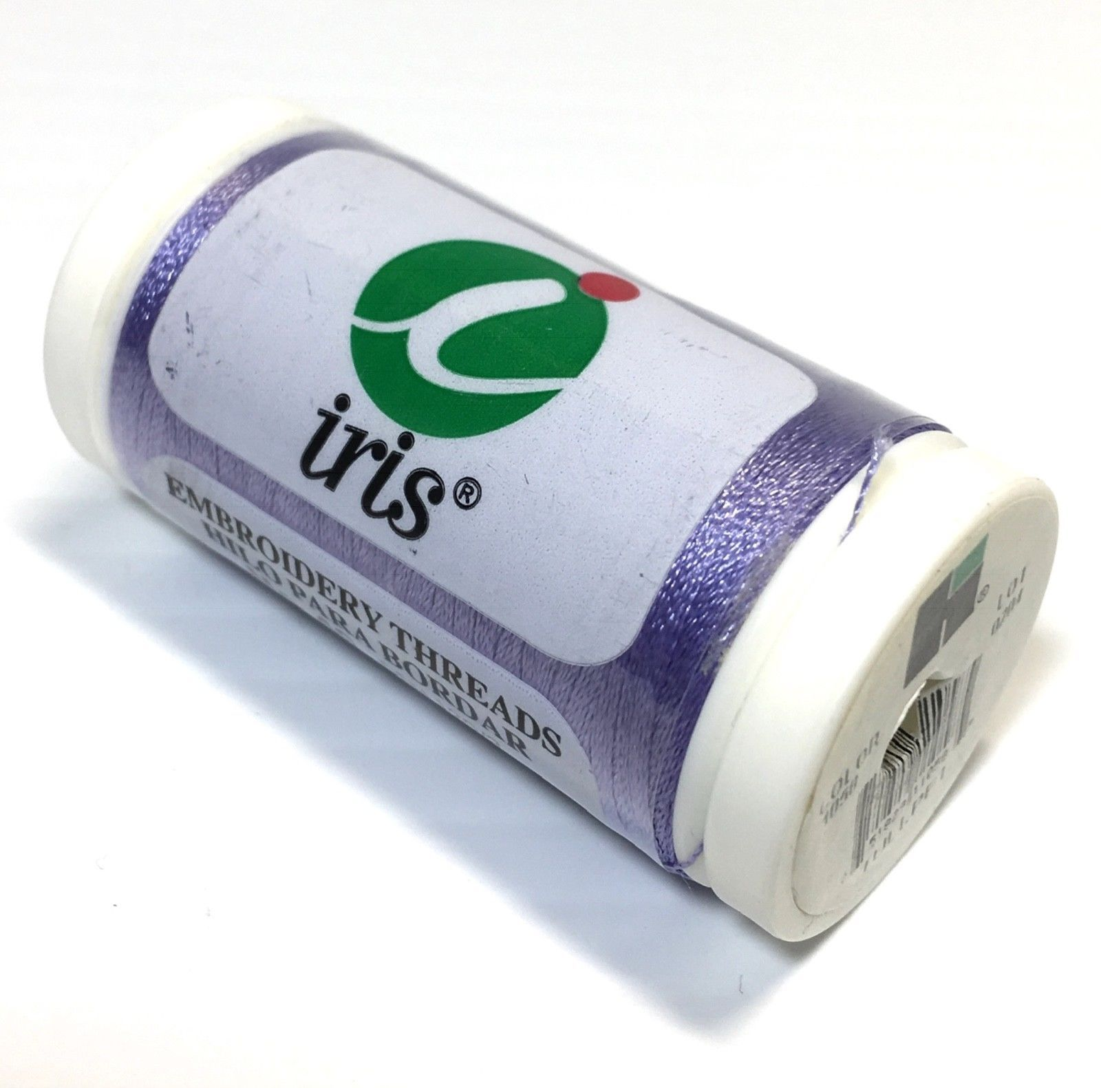 Hilos Iris Machine Embroidery Thread 100% Polyester TULLPET Purple 1058 600 yds