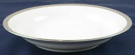 "Rosenthal Gloriette Platin 8-1/2"" Coupe Soup Bowl, Germany - $11.99"