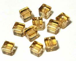 4pcs - 4mm Swarovski Crystal Cube Beads #5601 - You Choose The Color image 8