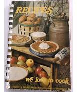 Roseville MI Trinity United Methodist Church Community Cookbook - $6.92