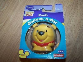 Collect A Pal Disney Winnie the Pooh Bear PVC Figure Toy Cake Top New - $9.00