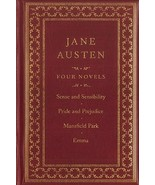 Jane Austen: Four Novels: Sense and Sensibility/Pride and Prejudice/Emma... - $12.99