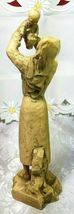 """THE LADY OF NAZARETH OLD ST MARY'S SAN FRANCISCAN SIGNED ANN COUREY FIGURINE 10"""" image 3"""