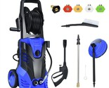 3000 PSI Electric High Pressure Washer With Patio Cleaner