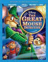 Great Mouse Detective (Blu-Ray/DVD/2 Disc/Special Edition/Ws/Eng-Fr-Sp Sub)