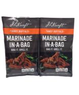J.L Kraft Tangy Buffalo Marinade Bag Grilling Meat Sauce Seasoning Liqui... - $24.18
