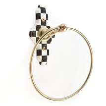 MacKenzie Childs Courtly Check Towel Ring - $60.76