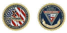 "NAVY NAVAL AIR STATION NAS FORT WORTH TEXAS 1.75"" CHALLENGE COIN - $16.24"