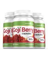Goji Berry Extract 500mg High Strength Capsules 180 Capsules - $32.49