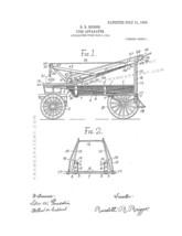 Fire Apparatus Patent Print - White - $7.95+