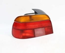 BMW E39 5-Series Left Rear Drivers Tail Light Brake Lamp Hella 1997-2000 OEM - $44.55